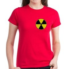 Yellow Radiation Symbol Tee