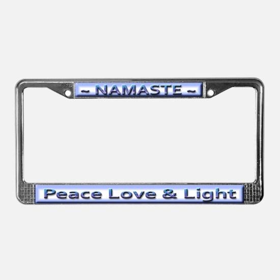 Namaste ~ License Plate Frame