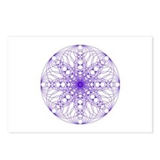 Symmetric arts Postcards (Package of 8)