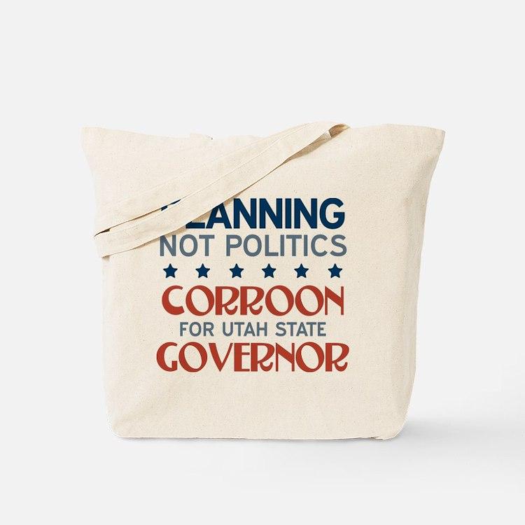 Planning not Politics Tote Bag