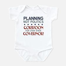 Planning not Politics Infant Bodysuit