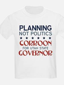 Planning not Politics T-Shirt