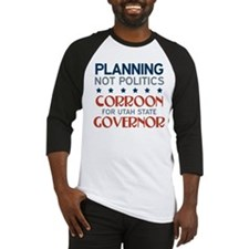 Planning not Politics Baseball Jersey