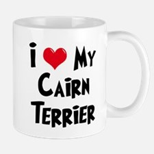 I Love My Cairn Terrier Mug