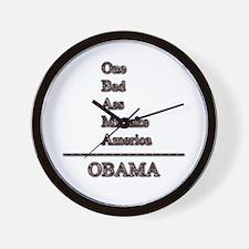 Cute Barry president Wall Clock