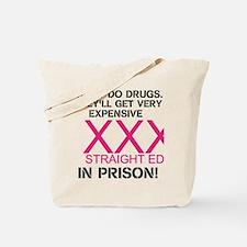 Funny Drugs Tote Bag