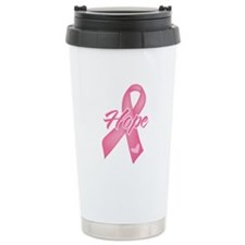 Hope Breast Cancer Travel Mug