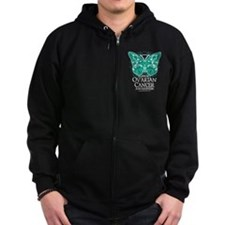 Cute Fightcancertees Zip Hoodie