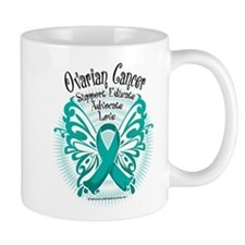 Ovarian Cancer Butterfly 2 Mug