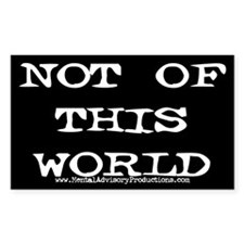 Not Of This World Decal