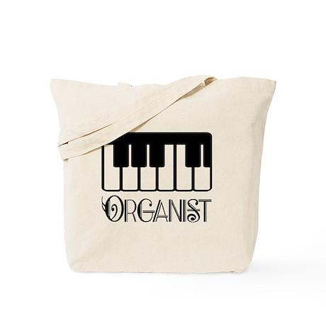 Classical Organist Tote Bag