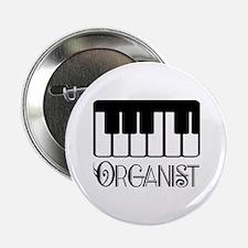 "Classical Organist 2.25"" Button"