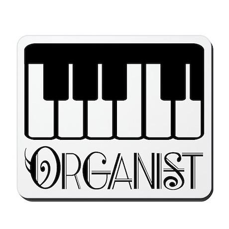 Classical Organist Mousepad