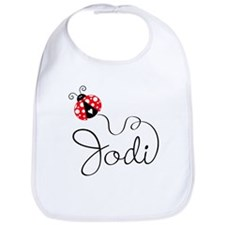 Ladybug Jodi Bib