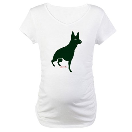 Tripawds Front Leg GSD Maternity T-Shirt