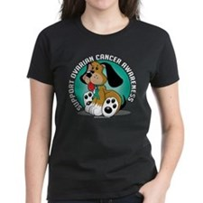 Ovarian Cancer Dog Tee