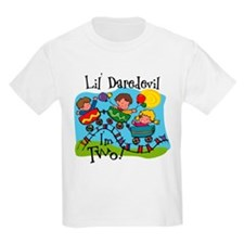 Little Daredevil 2nd Birthday T-Shirt