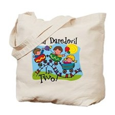 Little Daredevil 2nd Birthday Tote Bag