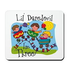 Little Daredevil 3rd Birthday Mousepad