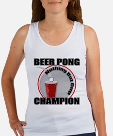 Beer Pong - Nothing But Cup Women's Tank Top