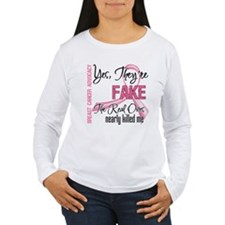 Fake 3 - Breast Cancer T-Shirt