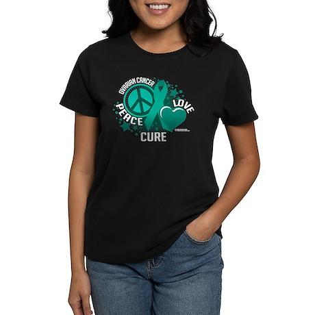 Ovarian Cancer PLC Women's Dark T-Shirt