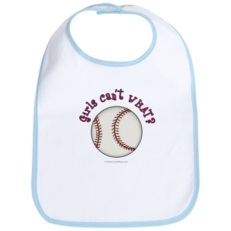 Pink Baseball Team Bib