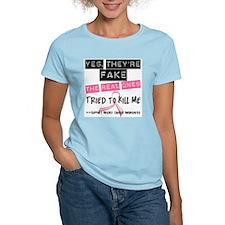 Fake 4 Breast Cancer T-Shirt