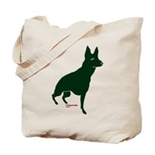 Tripawds Three Legged GSD Tote Bag