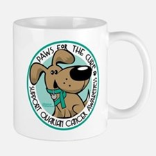 Ovarian Cancer Paws for the C Mug