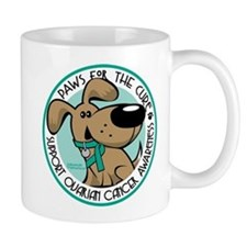 Ovarian Cancer Paws for the C Mug
