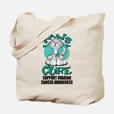 Ovarian Cancer Paws for the C Tote Bag