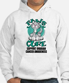 Ovarian Cancer Paws for the C Jumper Hoody