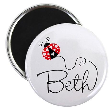 Ladybug Beth Magnet