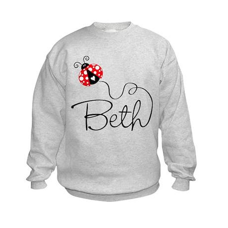 Ladybug Beth Kids Sweatshirt