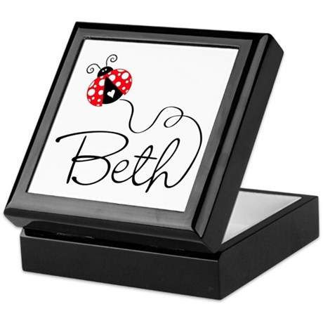 Ladybug Beth Keepsake Box
