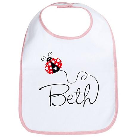 Ladybug Beth Bib