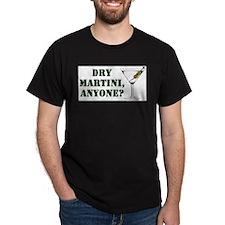 mash martini Black T-Shirt