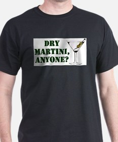 mash martini Black T-Shirt