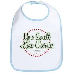 Smell Like Cherries Bib