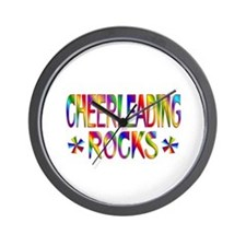 Cheerleading Wall Clock