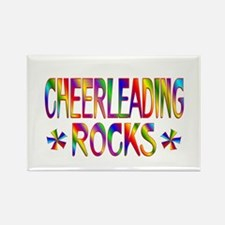 Cheerleading Rectangle Magnet