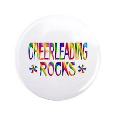 """Cheerleading 3.5"""" Button"""