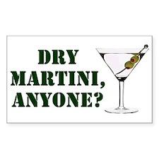 mash martini Rectangle Decal