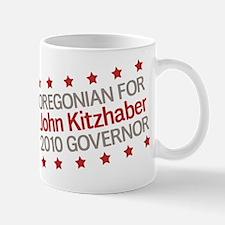 Oregonian for Kitzhaber Mug