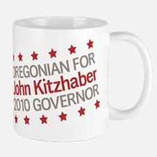 Oregonian for Kitzhaber Small Small Mug