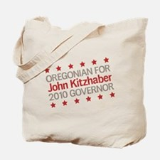 Oregonian for Kitzhaber Tote Bag