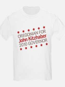 Oregonian for Kitzhaber T-Shirt