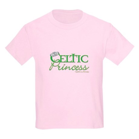 Celtic Princess Kids Light T-Shirt