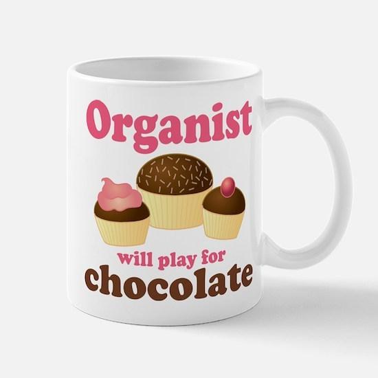 Funny Chocolate Organist Mug
